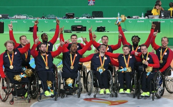 Teams USA holen Gold bei den Paralympics